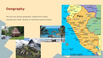 South America- Peruvian Culture