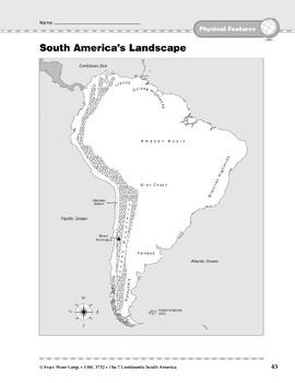 South America: Physical Features: Landscape