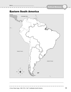 South America: Political Divisions: Eastern South America