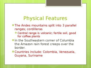South America Powerpoint