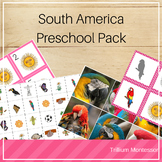 South America Preschool Pack