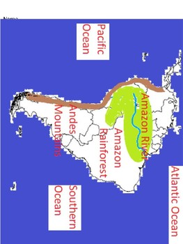 South America Quiz (SOL 3.6)