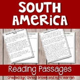 South America Reading Passages