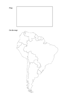 South America Research Guide and Scoring Guide