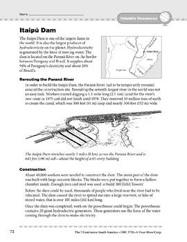 South America: Resources: Itaipu Dam