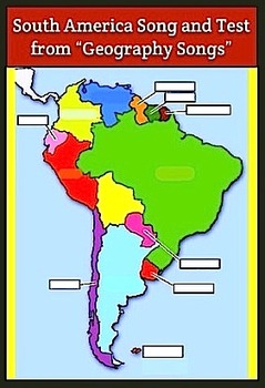 South America Map Song.South America Song Video Movie Mp4 By Kathy Troxel From