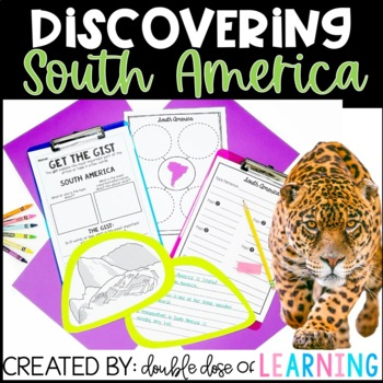 Continents: South America Unit with PowerPoint