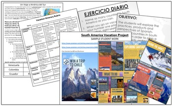 Spanish-Speaking Countries - South America Vacation Project