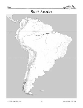 South America: Water & Landforms