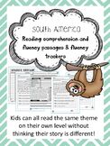 South America fluency and comprehension leveled passage