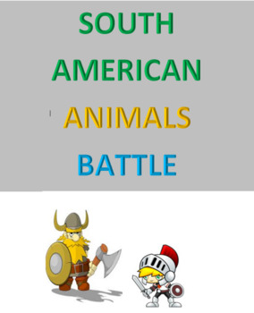 South American Animals Battle