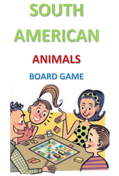 South American Animals Board Game