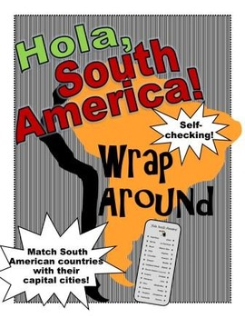 South American Capital Cities Wrap Around