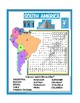 South America Word Search