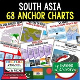South Asia Anchor Charts (World Geography)