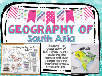 South Asia Biome and Geography Hunt