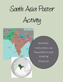 South Asia Poster and Activity: Geographical Features