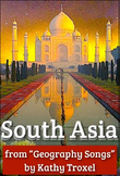 "South Asia Song Video mp4 from ""Geography Songs"" by Kathy Troxel"