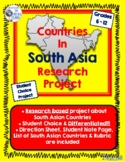 South Asian Countries Research Project
