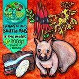 Australian Clip Art {Official symbols & landmarks of South Australia}