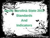 South Carolina 2011 State Standard Cards_6th Grade
