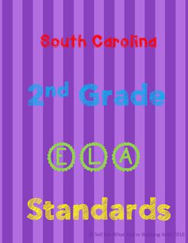 South Carolina 2nd Grade English (ELA) Standards