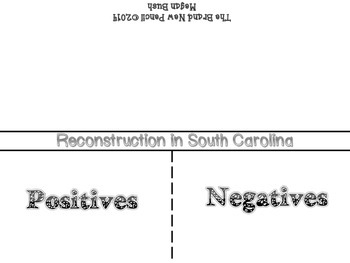 South Carolina 3-4.6 Positive and Negative Effects of Reconstruction Fold-It