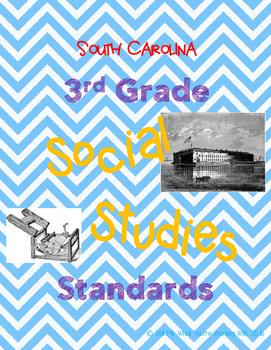 South Carolina 3rd Grade Social Studies (SS) Standards