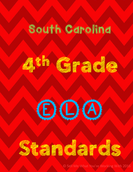 South Carolina 4th Grade English (ELA) Standards
