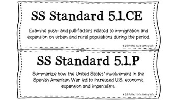 South Carolina 5th Grade Social Studies (SS) Standards