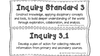 South Carolina 5th Grade Standards BUNDLE