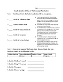 South Carolina Battles of the American Revolution Quiz