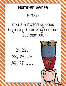 South Carolina CCR Standards: Kindergarten Math