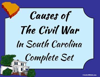 South Carolina - Causes of the Civil War Complete Set 3-4.3