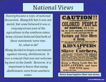 South Carolina - Causes of the Civil War Presentation 3-4.3