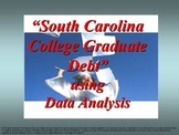 South Carolina College Graduate Debt: using Data Analysis