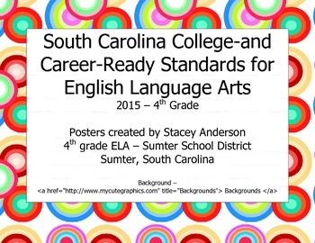 South Carolina College-and Career-Ready Standards for ELA 2015-2016 – 4th Grade