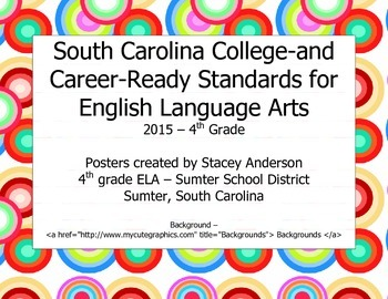 South Carolina College-and Career-Ready Standards for ELA