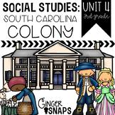 South Carolina Colony {Unit 4}