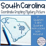 South Carolina Coordinate Graphing Picture 1st Quadrant &