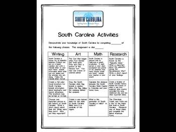 South Carolina Differentiated State Activities