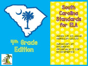 South Carolina ELA Standards 4th Grade