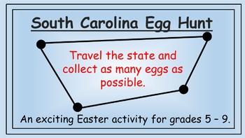 South Carolina Easter Math Activity