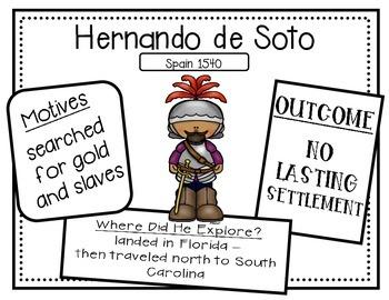 South Carolina Explorer Anchor Charts