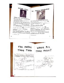 South Carolina Explorers Booklet
