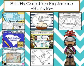 South Carolina Explorers Bundle
