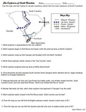 South Carolina Explorers Map Activity 3-2.2