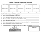 South Carolina Explorers Timeline