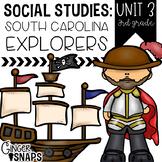 South Carolina Explorers {Unit 3}