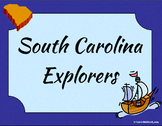 South Carolina - Explorers of SC Complete Set 3-2.2